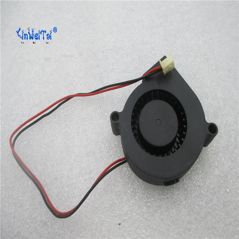 EverCool EC5015M12S DC12V 0.15A 1.80 W Için YINWEITAI 2-wire 2-pin Sunucu Blower Fan