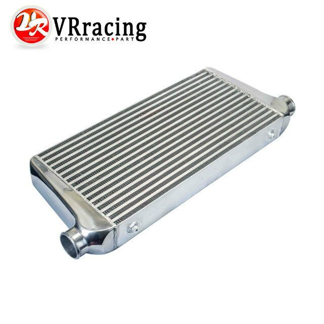 VR YARıŞ-600*300*76mm Evrensel Turbo Intercooler bar & plaka OD = 3.0 Ön montaj intercooler VR-IN816-30