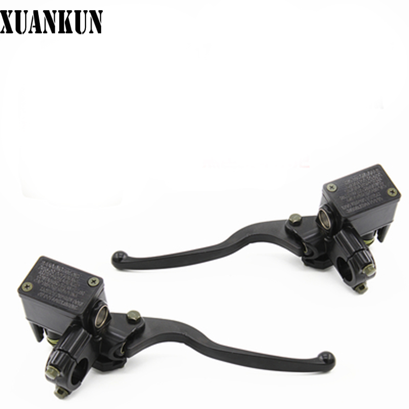 Before and after the XUANKUN Electric Motorcycle Brake Pedal Pump Hydraulic Brake Pump