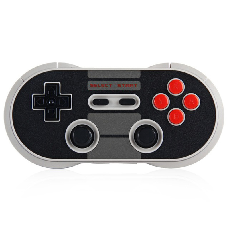 8 Bitdo NES30 Pro Kablosuz Bluetooth Denetleyici Çift Klasik Joystick için iOS/Android/Mac/PC/Anahtarı Gamepad PC Mac Linux